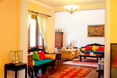 Luxury B&B in traditional elegant mansion