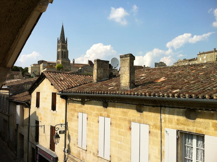 Le Bouquet, St Emilion luxury apartment