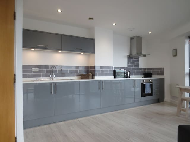 Stunning brand new kitchen