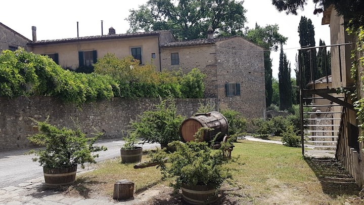 Original Chianti family farm