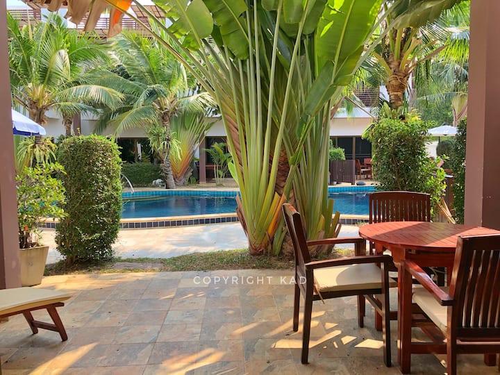 Oasis Garden II 3 beds 2 bath Mae Ramphueng Beach