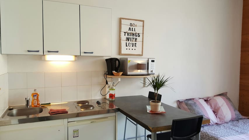 Studio HYPER CENTRE - Grenoble - Appartement
