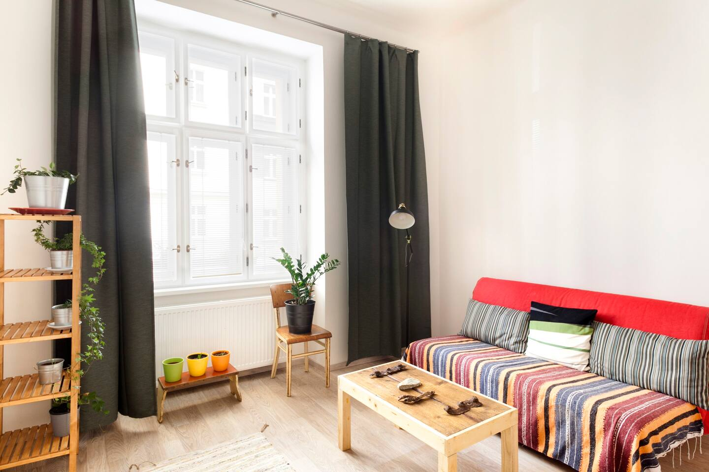Private One-Bedroom Park Apartment