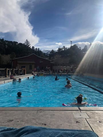Each stay includes 2 passes to the Historic Bath House Pool at Mt. Princeton Resort.