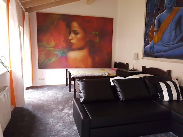 Privatzimmer in Willich nahe Düsseldorf u. Krefeld - Willich - Dům