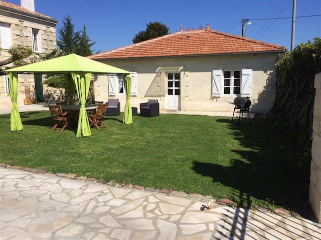 Le Jardin d'Hermione - Mazion - Huis