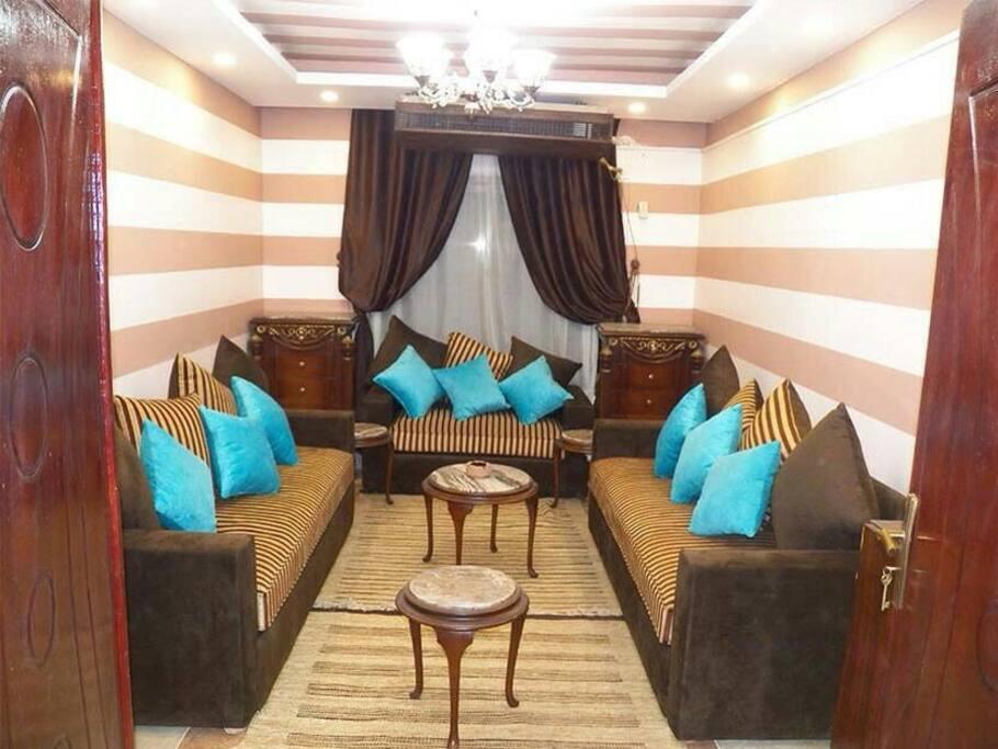 living room Arabian style