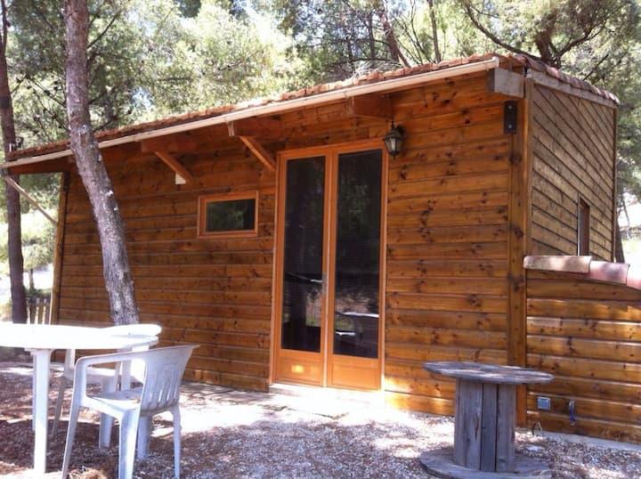 Maison en bois ecofriendly, 4 pers