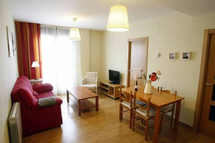 Apartamento 4 personas junto a Ezcaray (La Rioja)