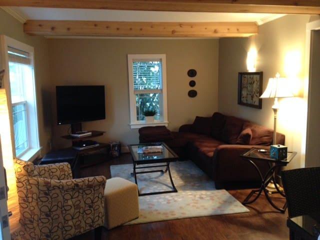 """Comfy family room 47"""" TV"""