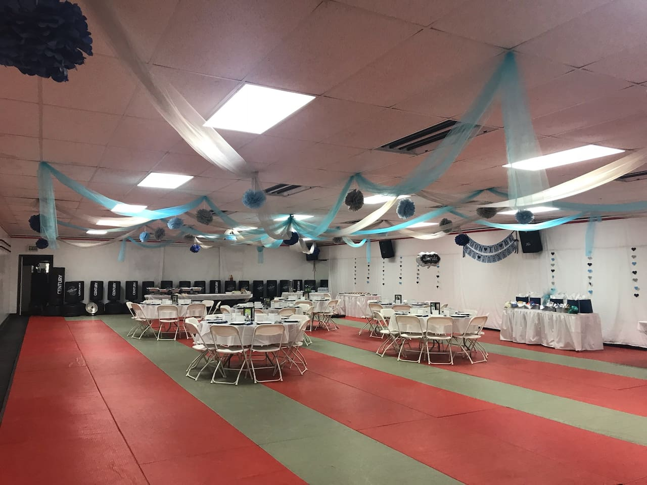 Baby shower to retirement party and everything in between.  Space for most any event.  How would you decorate?