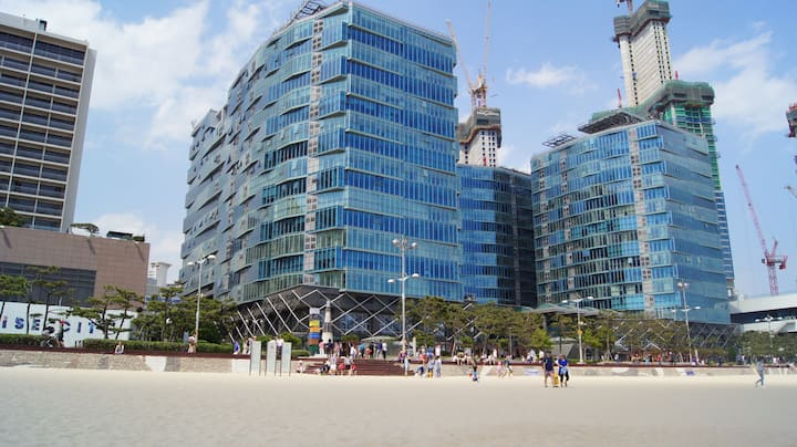#PALEDCEZE CONDOMINIUM NEXT TO HAEUNDAE BEACH