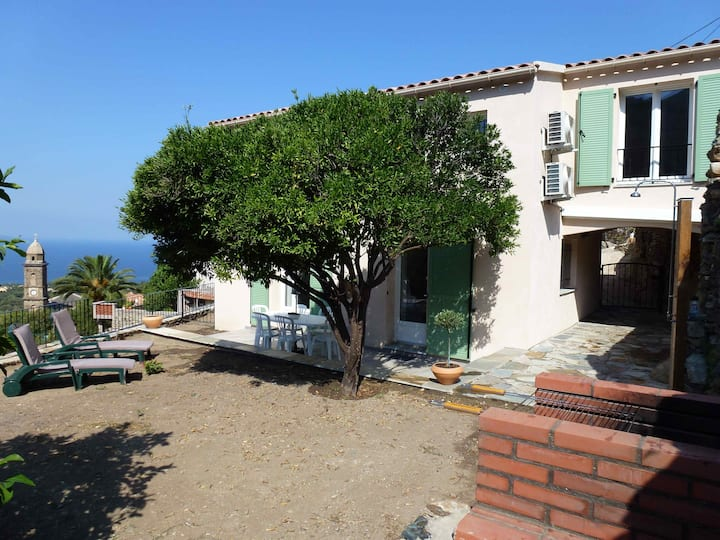 Maison neuve, jardin, climatisée, vue mer, calme
