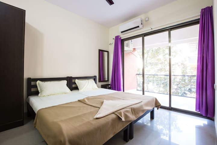 Luxurious 2BHK Homestay For All at Ribandar 203 - Ribandar - Huoneisto