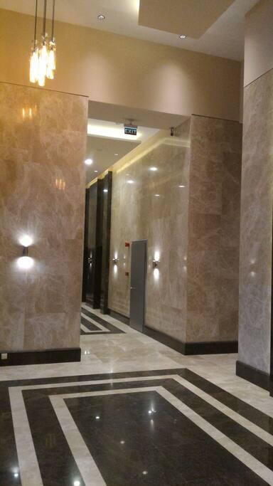 Entrance Porta Batumi Tower