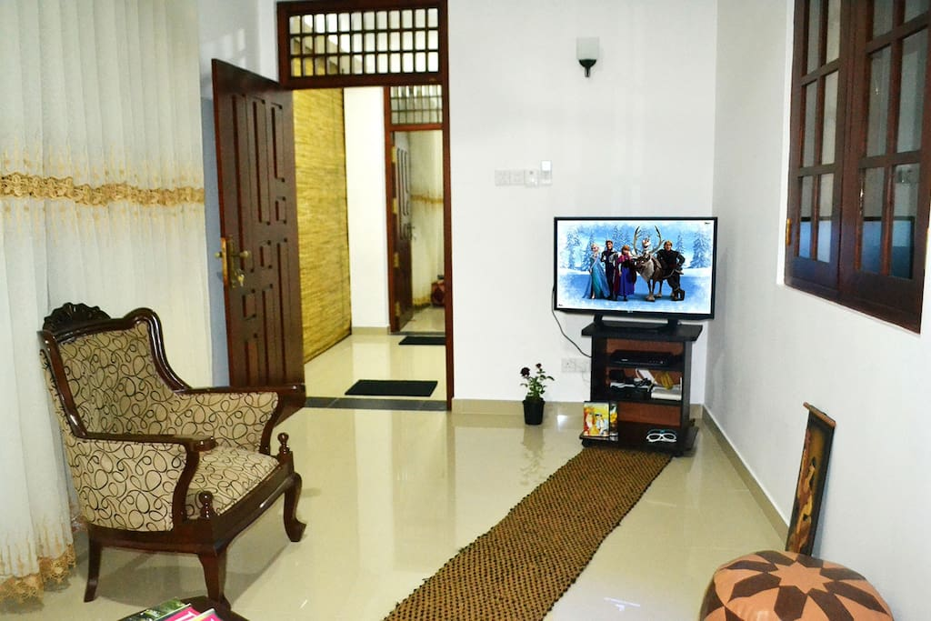 Living Area, Sofa, TV, DVD