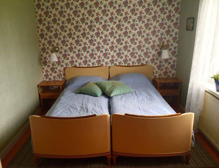 Gröna sovrummet