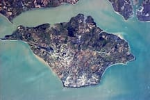 IOW from the air