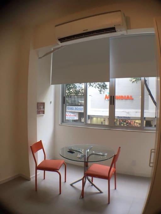 Split e janela anti-ruído