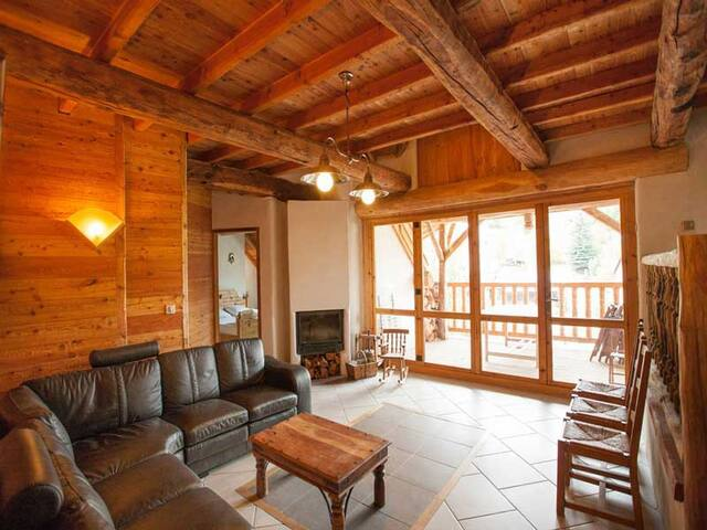 Luxury Chalet Rental Moulin 19 people. Station near Serre-Chevalier - Villar-Saint-Pancrace - Chalet