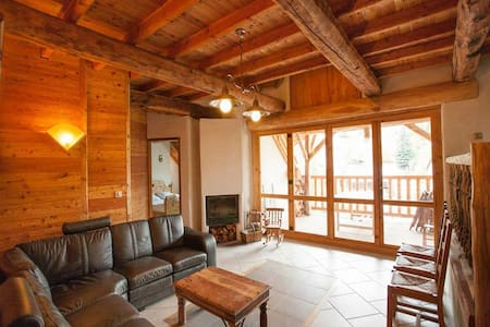 Luxury Chalet Rental Moulin 19 people. Station near Serre-Chevalier - Villar-Saint-Pancrace