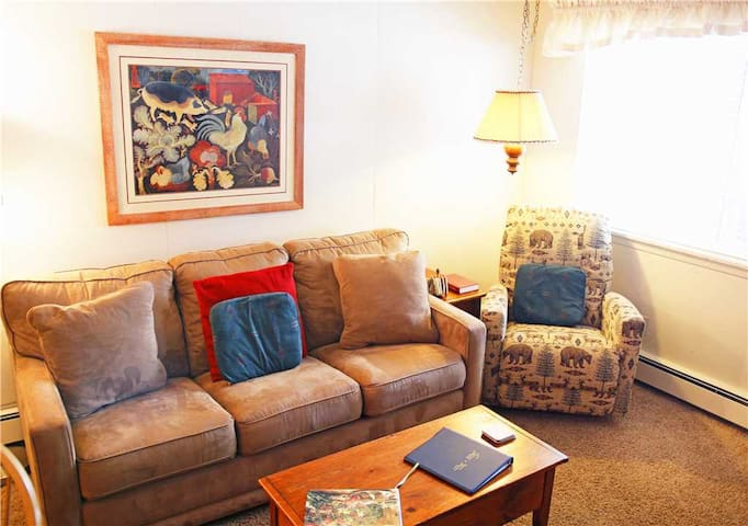 Hi Country Haus 705 - 2 bedroom rental , large flat screen TV, renovated kitchen with StayWP