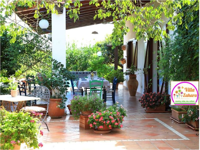 Country Villa for relax lovers & families - Ribera - Dom wakacyjny