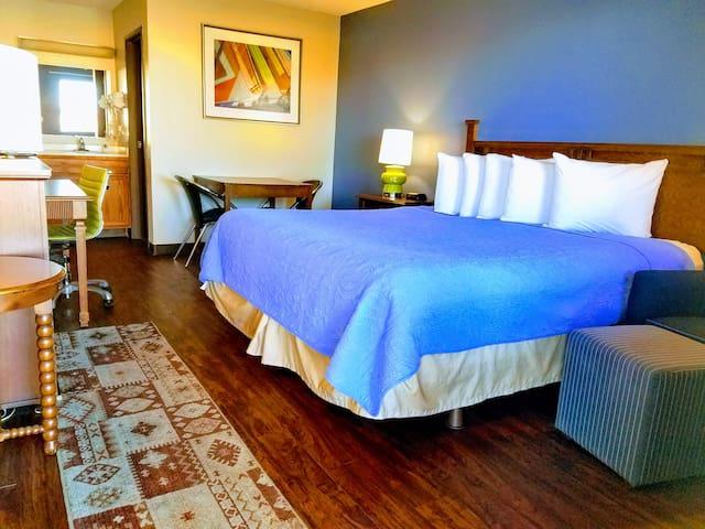 Relaxing, stylish floor plan