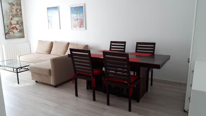 Appartement 4 personnes spacieux et calme