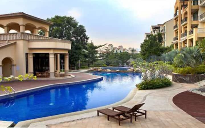 亚龙湾公主郡一室一厅一卫, 近亚龙湾海滩、百花谷、亚泰商业中心 Yalong Bay Sanya