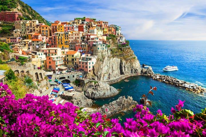 Apartment on the sea Cinque Terre