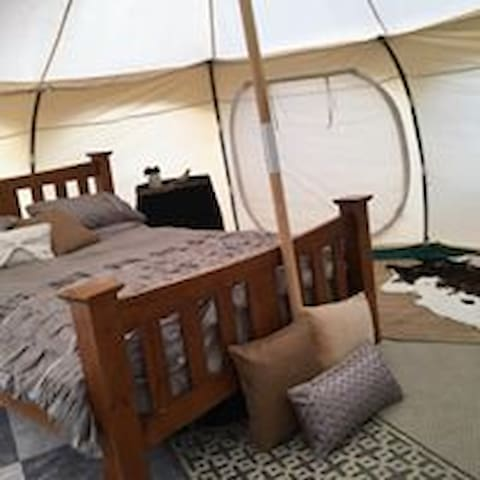 "Bukirk Glamping ""Frizzle"" Tent"