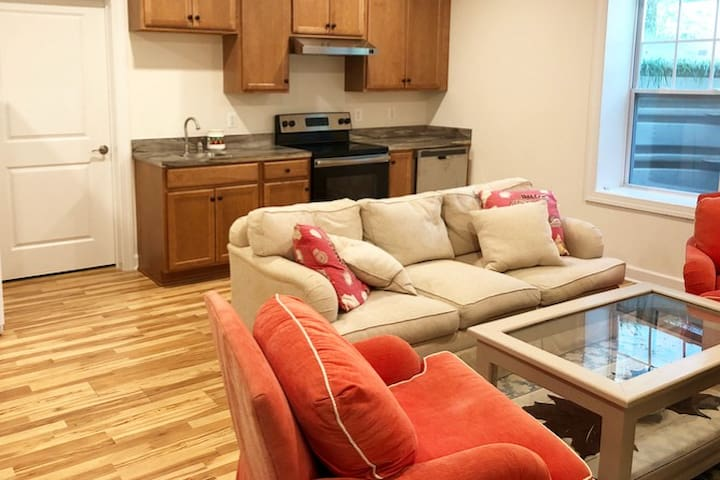 Brand NEW, cozy 1BR basement home