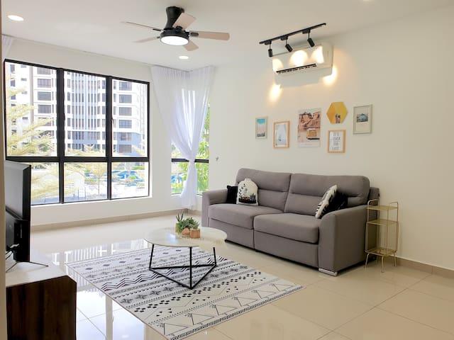 Ipoh | Tiger Lane Modern Suite near City Center!