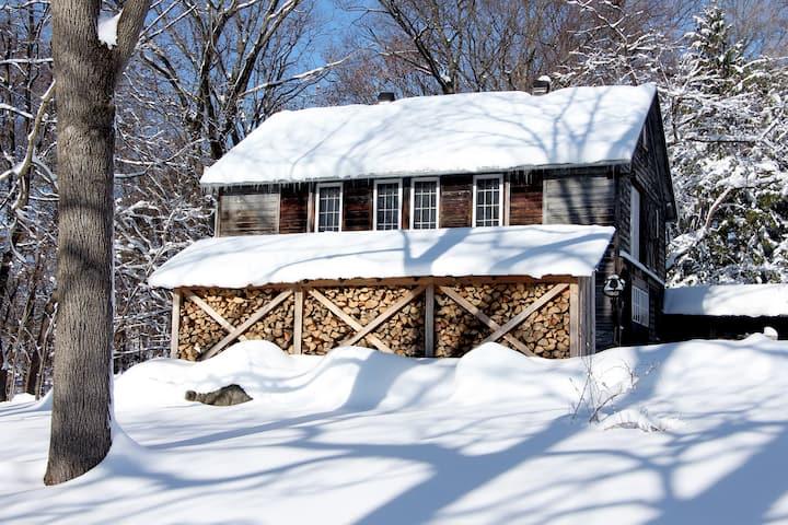 Winter at The Barn in Tivoli