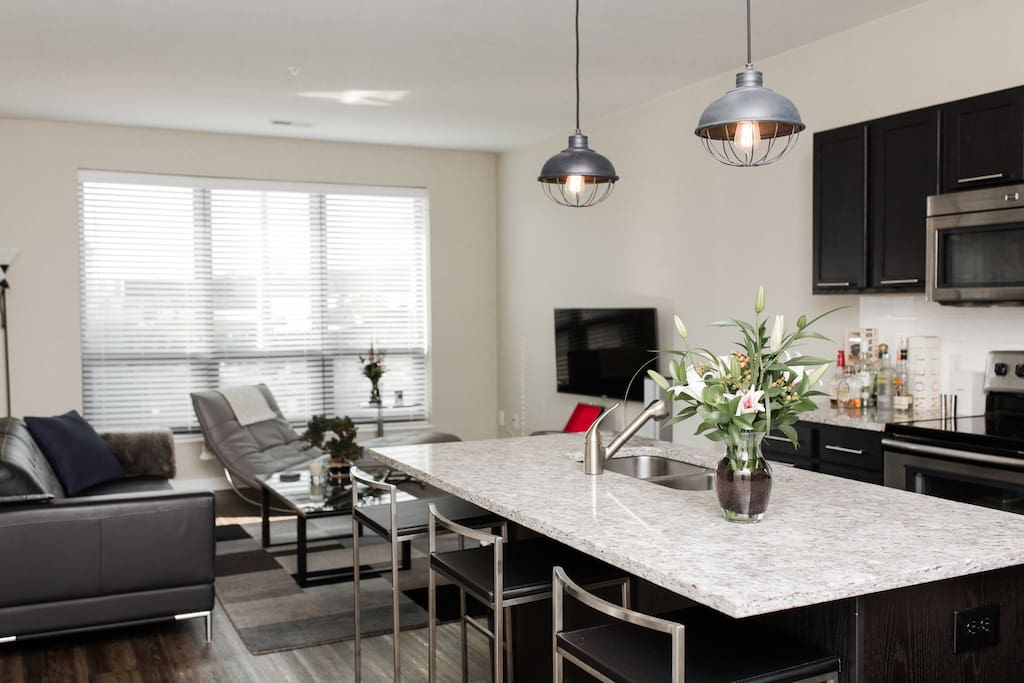 Modern Loft Like Apartment In Arena District Apartments For Rent In Columbus Ohio United States