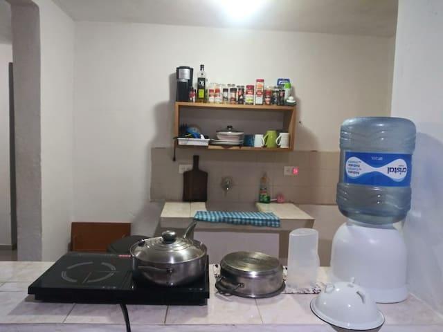 Apartamento céntrico y confortable en Cancún.
