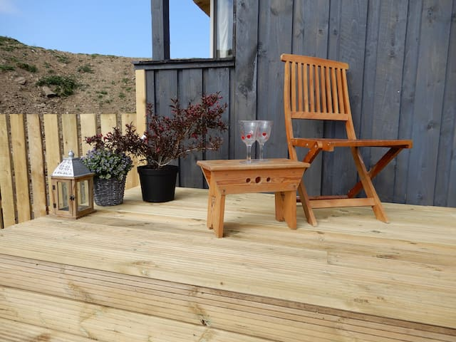 Large decking to enjoy outdoor space