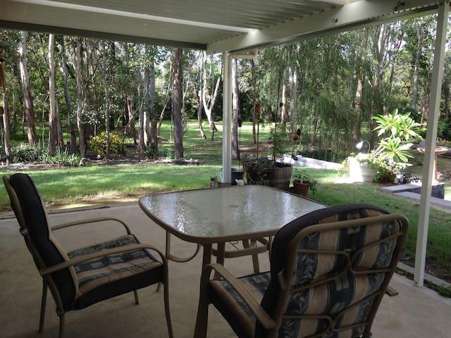 Bush garden retreat