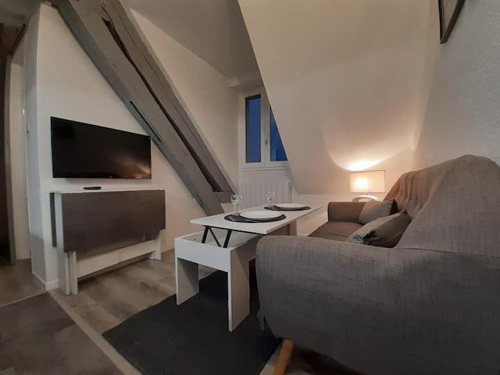 Studio au cœur du Rennes historique