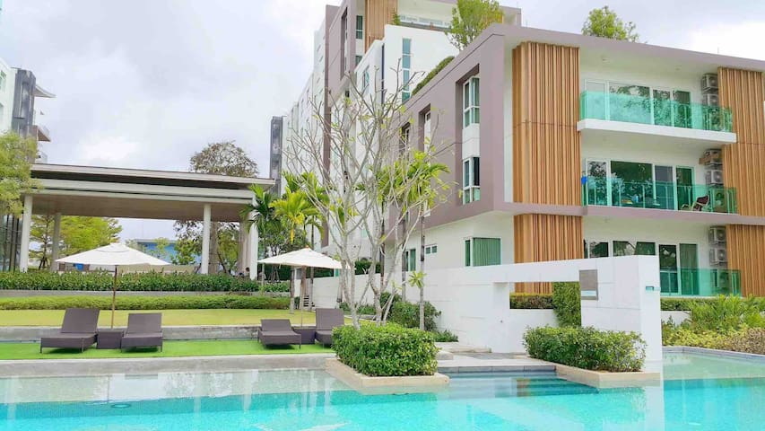 Luxury resort style condo, a perfect place to relax.