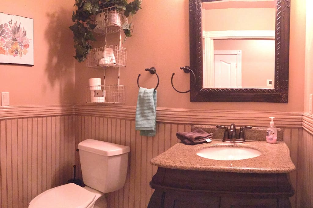 Hidden Cove bathroom located across the hall from bedroom