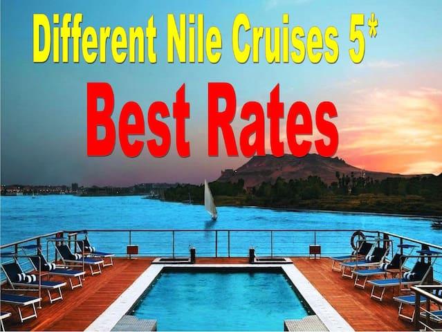Nile Cruise 5*-From Aswan or Luxor  03/ 07 Nights