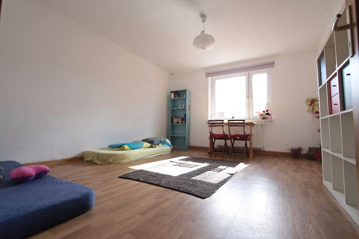 Bright and beautiful room in Südvorstadt