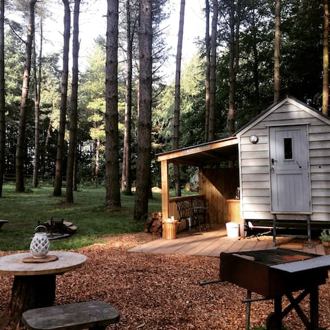 Woodland Retreat Glamping in Norfolk - Grimston - Chata