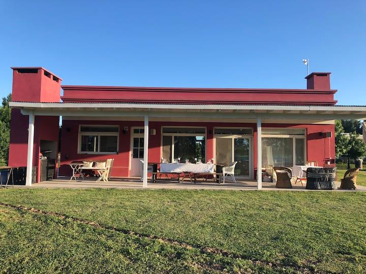 Espectacular casa de campo en Manzanares