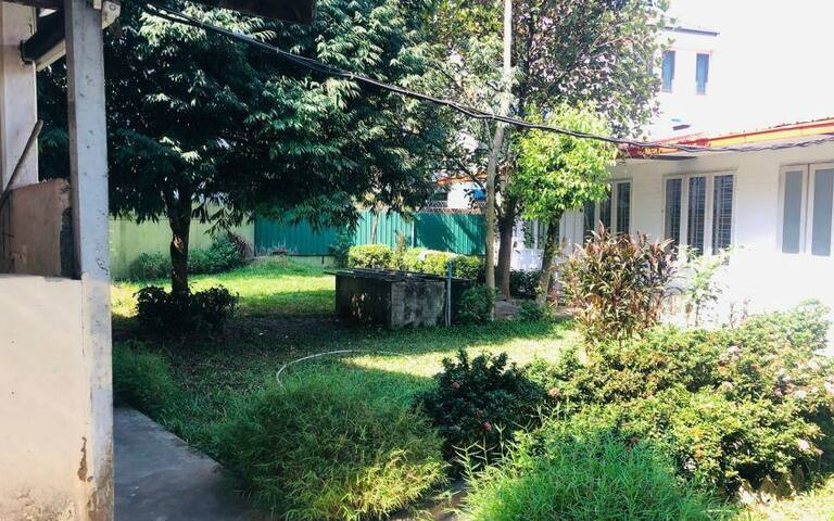 garden homestay for families on weekends
