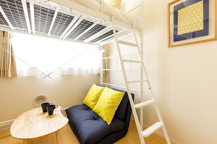 Cozy Micro-apartment, 2 min to Takadanobaba Sta.!