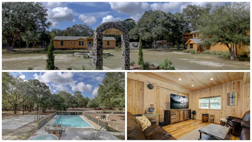 AMAZING Private 100 Acre Retreat - Spring Hill - Huis
