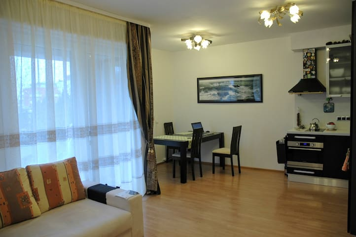 Beauty place with a private garden - Praga - Apartamento